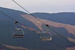 Levage de ski Photos libres de droits