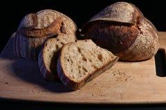 Levain de pain d'artisan Photographie stock