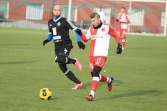 Levan Kenia - Slavia Prague Royalty Free Stock Photos