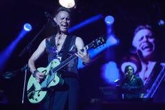 Levande Depeche Mode - Martin Gore Fotografering för Bildbyråer