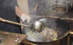 Levande matlagning Arkivbilder