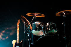Levande musik och instrument Royaltyfria Foton