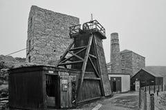Levant Tin Mine ~ Cornualles Foto de archivo