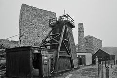 Levant Tin Mine ~ Cornwall Stock Photo