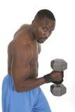 Levantador de peso masculino 2 Imagen de archivo libre de regalías