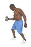 Levantador de peso masculino 3 Fotografía de archivo libre de regalías