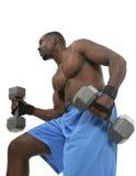 Levantador de peso masculino 4 Fotos de archivo libres de regalías