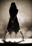Levantamento com espada Fotografia de Stock Royalty Free
