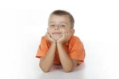 levantamento da criança Fotografia de Stock