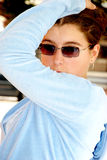 Levantamento da jovem mulher Fotos de Stock Royalty Free