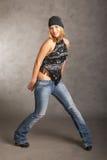 Levantamento da menina de Glamor Foto de Stock Royalty Free