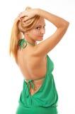 Levantamento da menina de Glamor Fotos de Stock Royalty Free