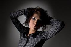 Levantamento da mulher Imagens de Stock