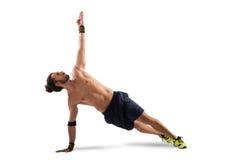 Levantamento de Pilates Fotografia de Stock Royalty Free