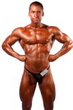 Levantamento do Bodybuilder Fotos de Stock Royalty Free