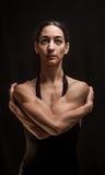Levantamento do dançarino da mulher Fotografia de Stock Royalty Free