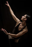 Levantamento do dançarino de bailado Fotografia de Stock