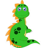 Levantamento do dinossauro dos desenhos animados Imagem de Stock Royalty Free