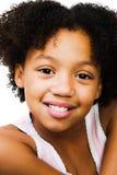 Levantamento feliz da menina Fotografia de Stock