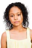 Levantamento latino-americano da menina Fotos de Stock