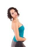 Levantamento novo e bonito da mulher Imagens de Stock Royalty Free