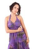 Levantamento novo e bonito da mulher Imagem de Stock Royalty Free