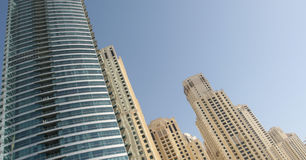 Levantamiento de Dubai foto de archivo