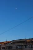 Levantamiento de la luna Fotografía de archivo