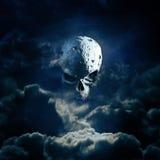 Levantamiento de la luna del segador ilustración del vector