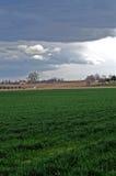 Levantamiento de las nubes de tormenta Foto de archivo