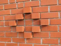 Levantamiento de muros Foto de archivo