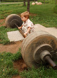 Levantamiento de pesas Foto de archivo libre de regalías
