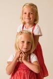 Levantando gêmeos Foto de Stock Royalty Free