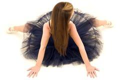 Levantando o dançarino visto de acima Fotos de Stock