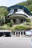 Levante a estação em Heiligenblut, Áustria Foto de Stock Royalty Free