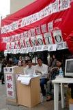 Levante o terremoto China do dinheiro imagens de stock royalty free