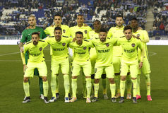 Levante UD lineup Royalty Free Stock Images