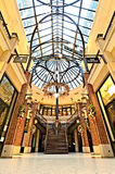 Luxury vintage shopping center in Hamburg Stock Images