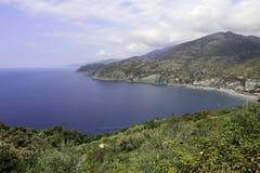 Levanto海岸  图库摄影