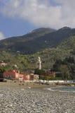 Levanto beach. Stock Photo
