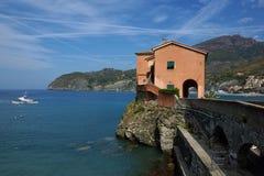 Levanto Cinque Terre, Italien Royaltyfria Bilder