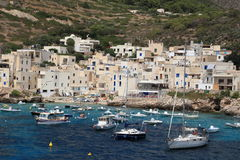 Levanzo (Aegadian-Inseln) Sizilien Lizenzfreie Stockfotografie
