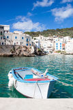 Levanzo fishing boat Stock Images
