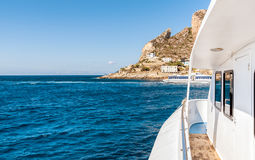 Levanzo island in the Mediterranean sea, Italy. Stock Images