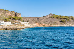 Levanzo island in the Mediterranean sea, Italy Royalty Free Stock Images