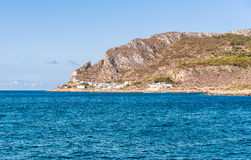 Levanzo island in the Mediterranean sea, Italy Stock Photography