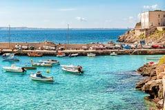 Levanzo island in the Mediterranean sea, Italy Royalty Free Stock Photos