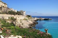 Levanzo island in Sicily Royalty Free Stock Photo