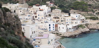 Levanzo village Stock Photos