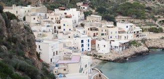 Levanzo village. Fishing village and tourist destination (Sicily Stock Photos